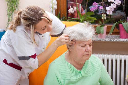 Nursing Home Massage in Newbridge
